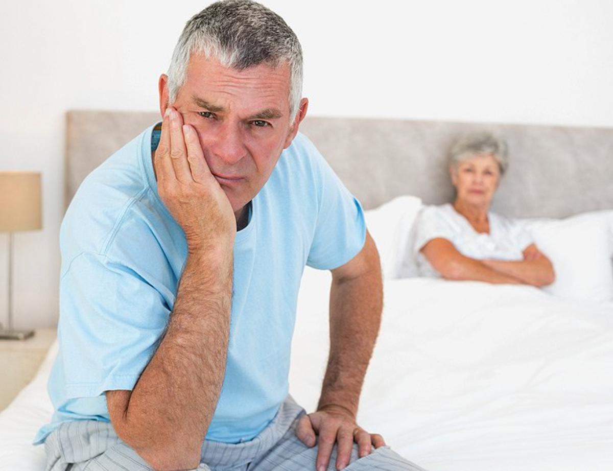 Симптомы импотенции у мужчин: в 20, 30, 40, 50, 60 лет