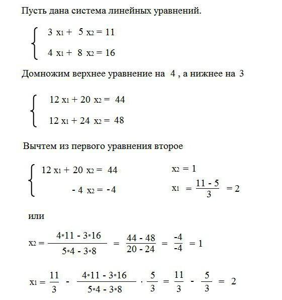 Линейные уравнения: формулы и примеры. неравенства и их решение :: syl.ru