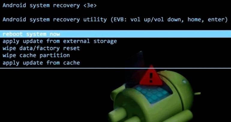 Что такое factory reset. wipe cache partition — что это и как сделать
