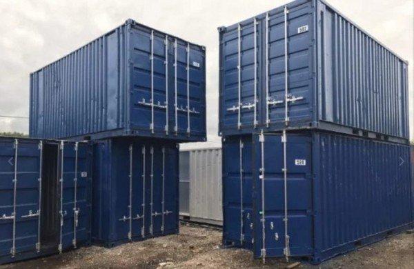 Типы контейнеров для перевозки грузов