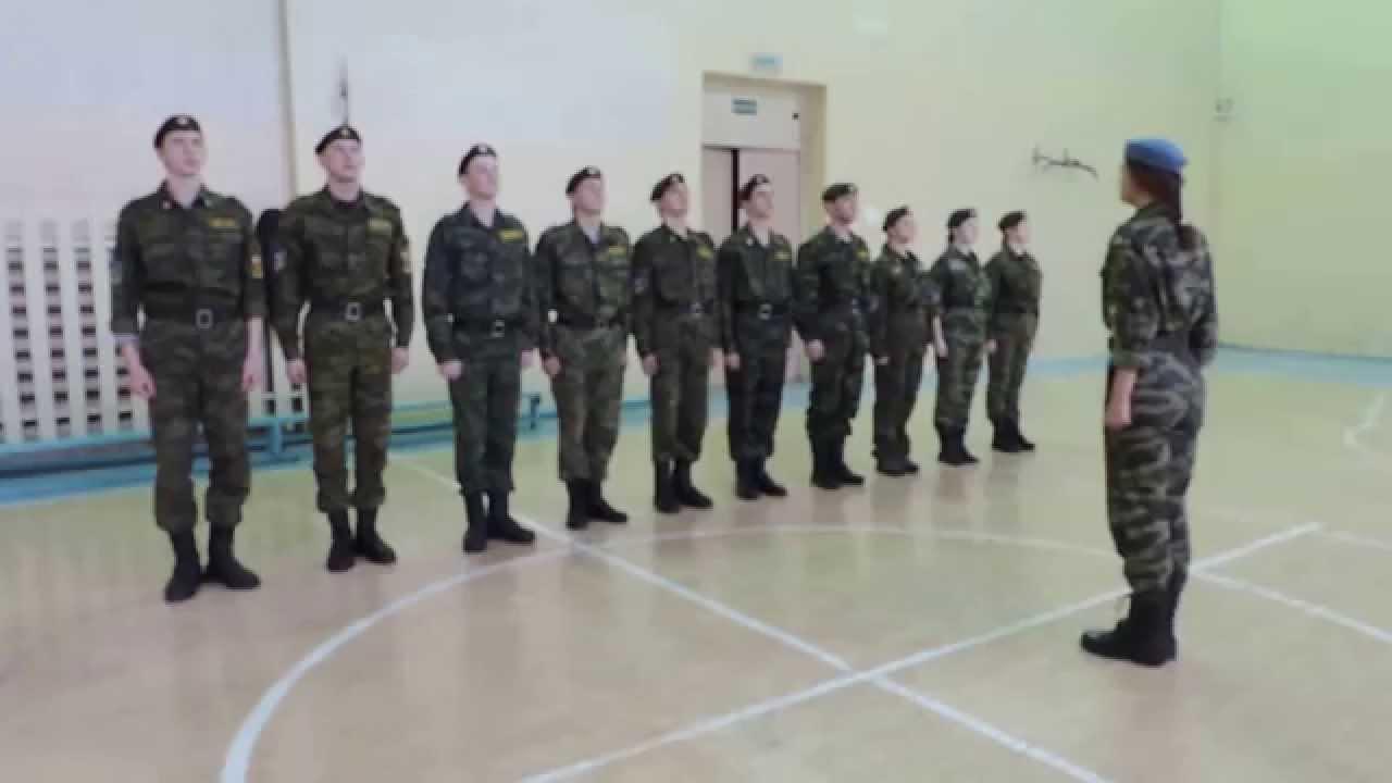 Строевая подготовка в армии - что это такое