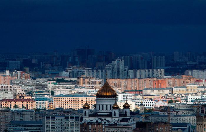 Москва: где находится на карте, достопримечательности города
