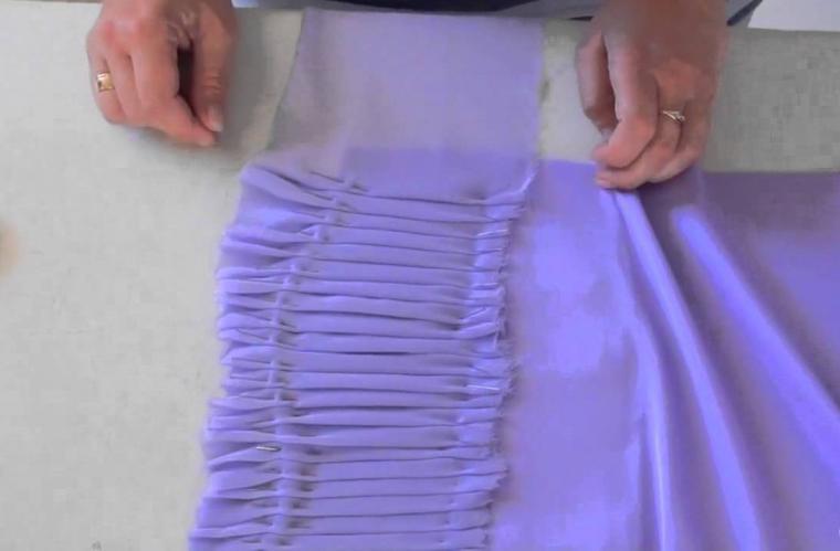 Драпировка: это что такое в одежде, как делать красиво своими руками