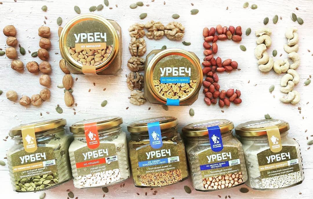 Урбеч из льна—натуральный продукт, пища долгожителей