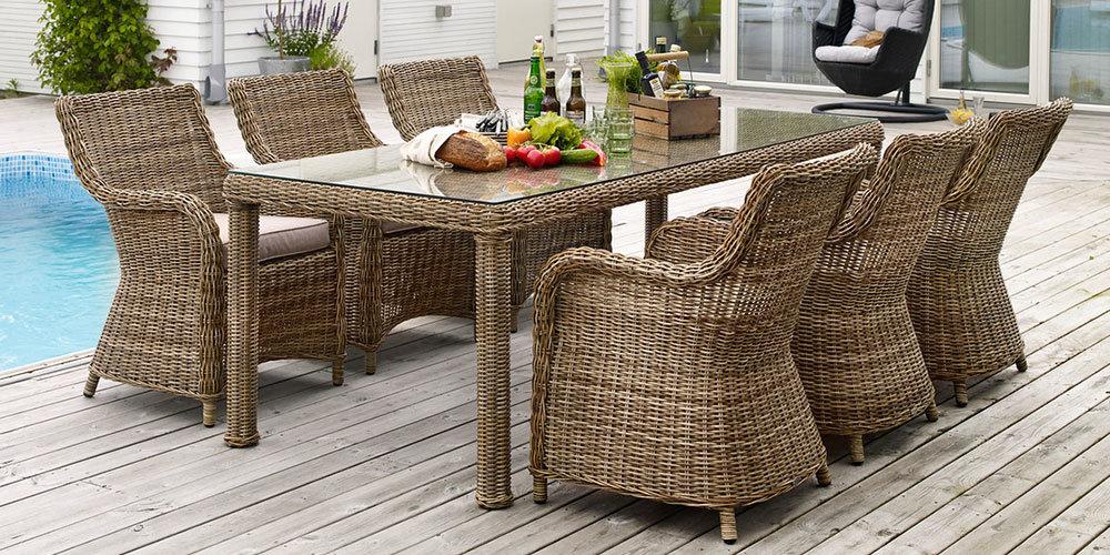История ротанга, материала для плетения мебели