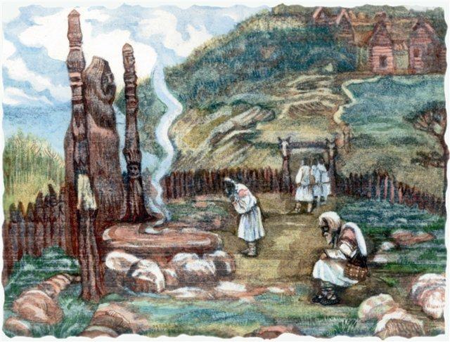 Что такое капище? примеры древних капищ