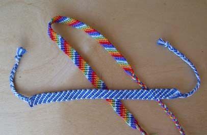 Плетение фенечек из мулине: схемы для начинающих