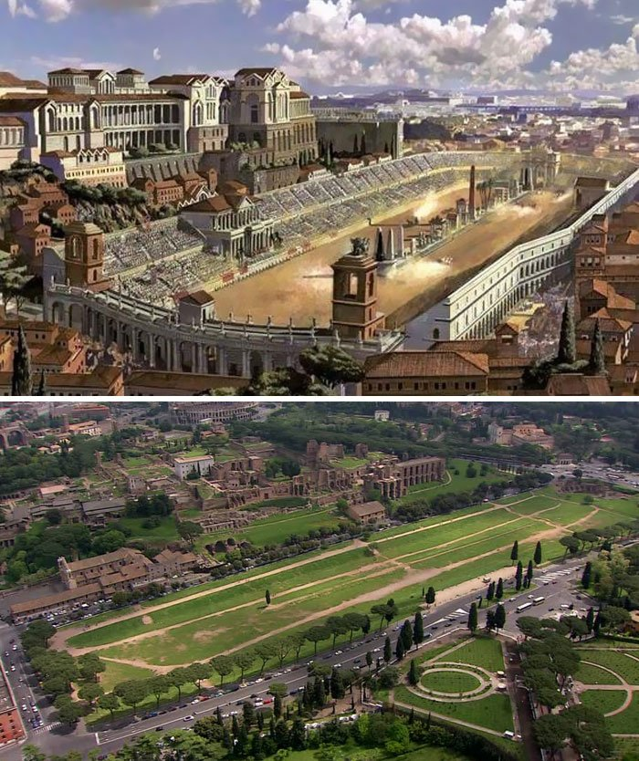 Реконструкция римского ипподрома