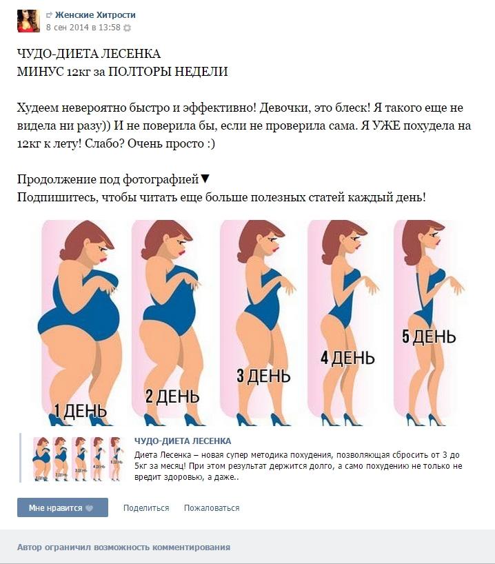 Какие диеты самые эффективные?