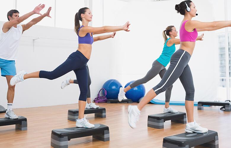 Степ-аэробика что это такое, лучшие видео упражнения для начинающих