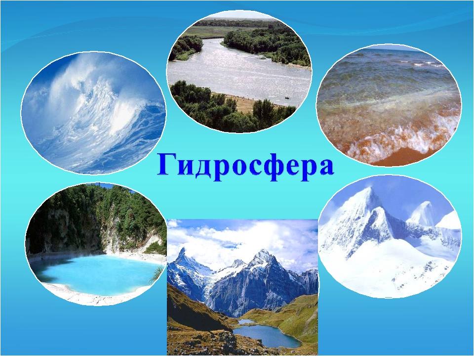 Что такое гидросфера в географии?