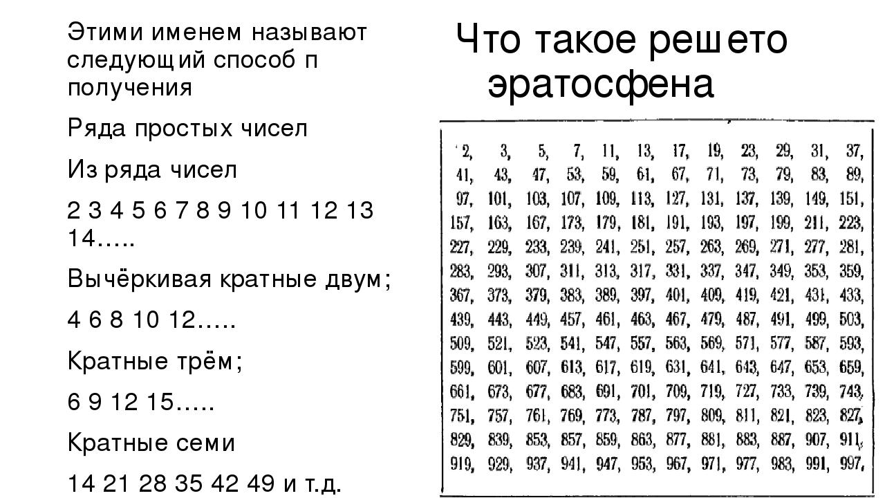 Натуральные числа — викиконспекты