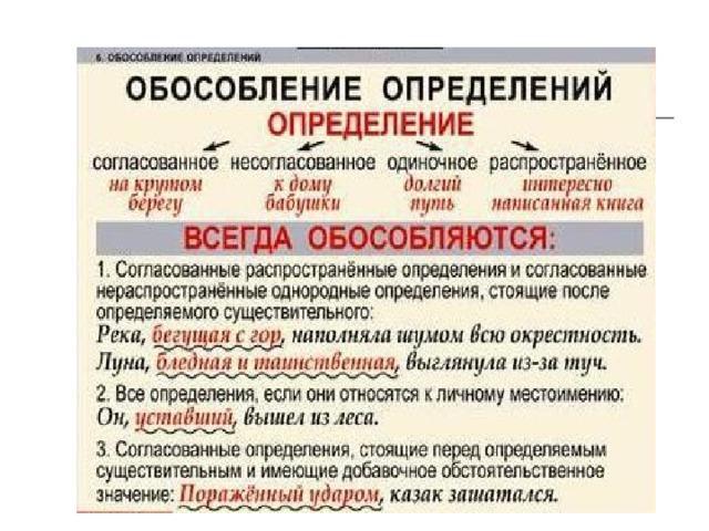 Что такое обособление? обособления в русском языке