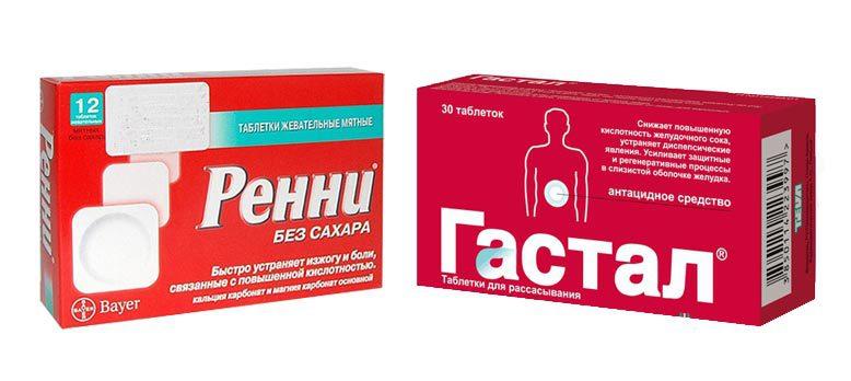 Антациды - перечень препаратов