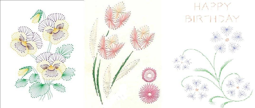 Красивое панно с розой изонить – пошаговый мастер-класс и схемы