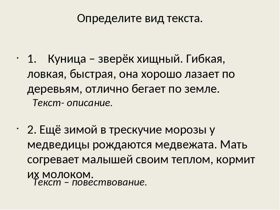 Урок 11: что такое текст? - 100urokov.ru