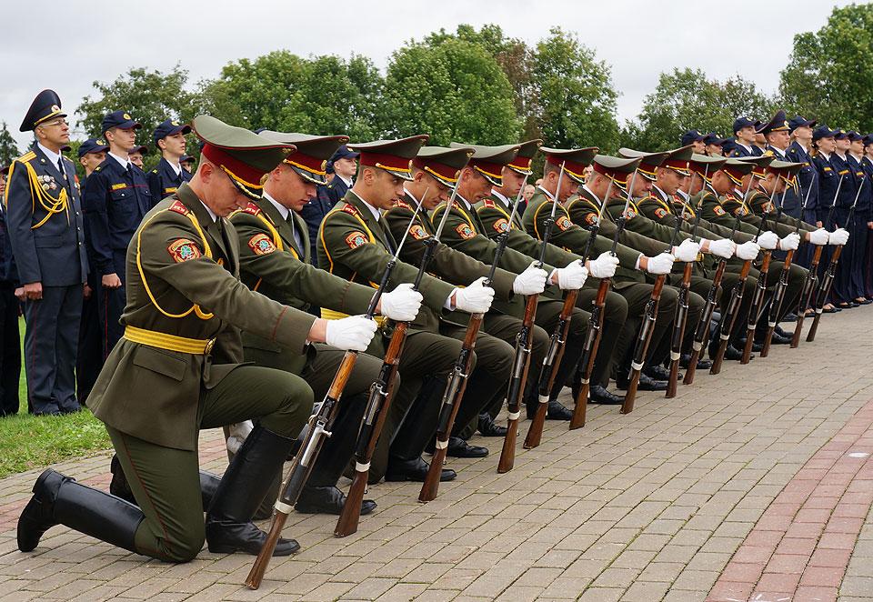 Традиции и воинские ритуалы в внг рф