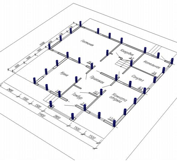 Винтовые сваи - плюсы и минусы, характеристики, устройство