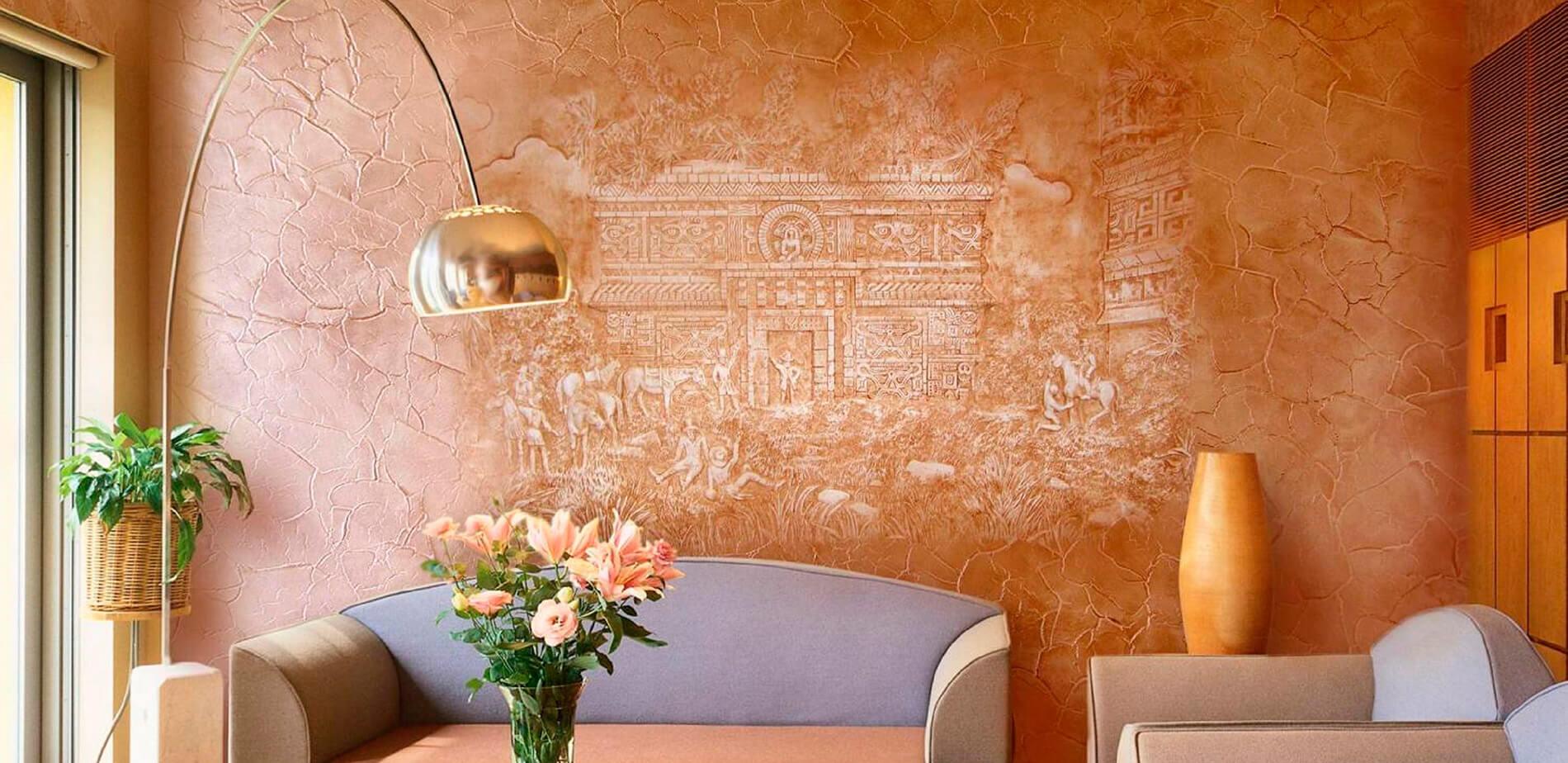 Виды декоративной штукатурки: характеристика и мастер-классы по нанесению на стены дома