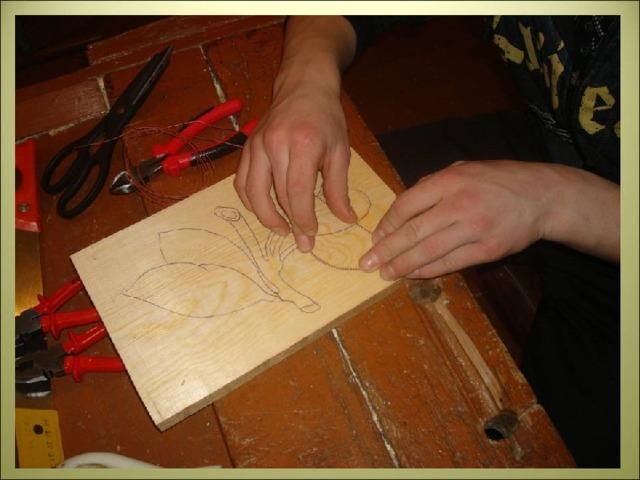 § 13. мозаика на изделиях из древесины