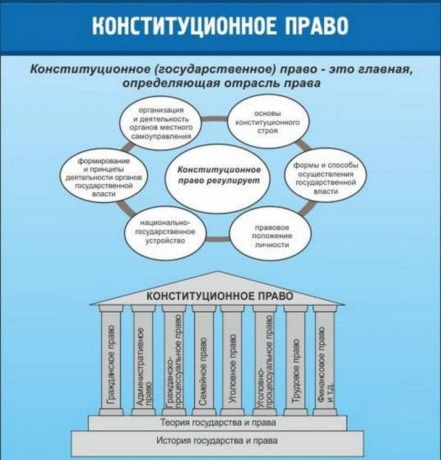 Конституционное право как отрасль права: отличительные особенности.