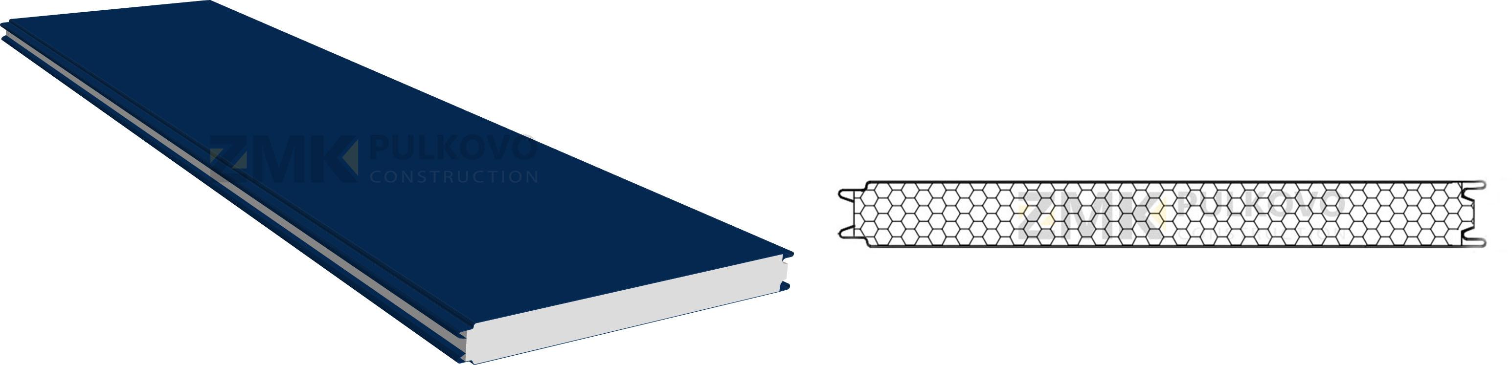Кровля из сэндвич-панелей: характеристики, размеры и технология установки
