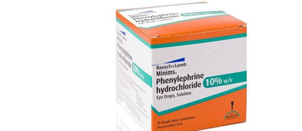 Фенилэфрин - описание действующего вещества