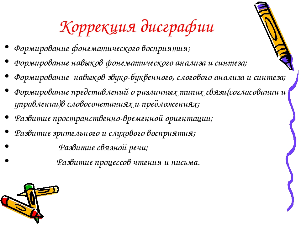 Дисграфия у детей - причины, основные симптомы, методы лечения