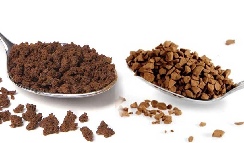 В чем разница между сублимированным и растворимым кофе? | в чем разница