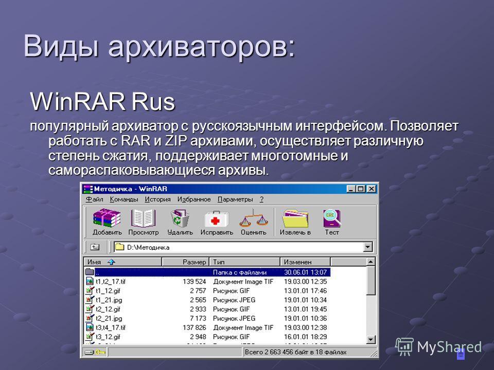 Что такое архивация файлов