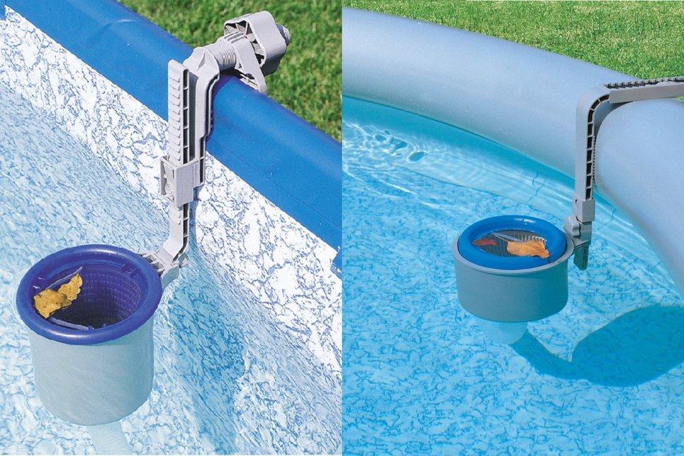 Скиммер: фото, видео, разновидности фильтрационных устройств для бассейна