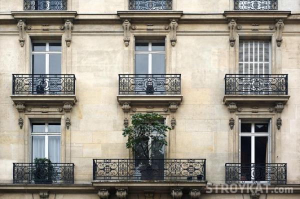 Французский балкон – фото, что это такое, виды, плюсы и минусы