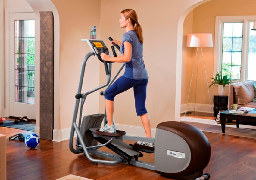 Как выбрать эллиптический тренажер для дома и правильно заниматься на нем
