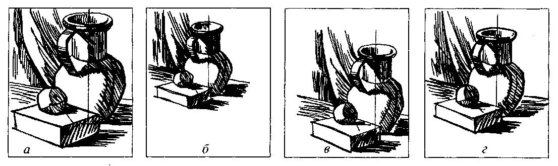 Композиция в рисунке, основы композиции в рисунке и живописи