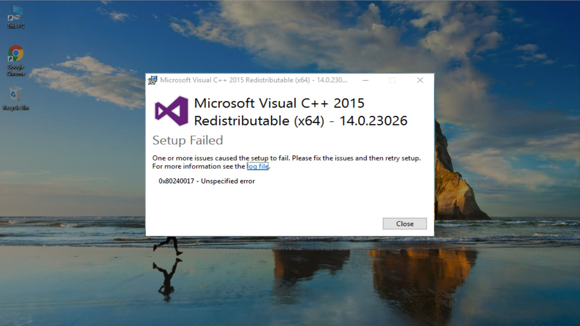 Скачать msvcp140 dll и исправить ошибку для windows 7 (8/10)