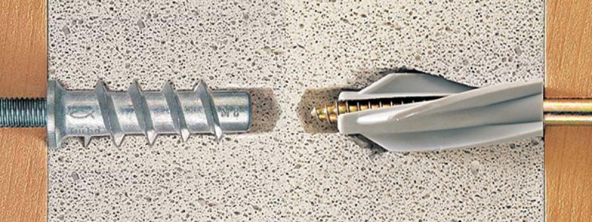 Забиваемый металлический дюбель – выбор размера, монтаж и особенности применения