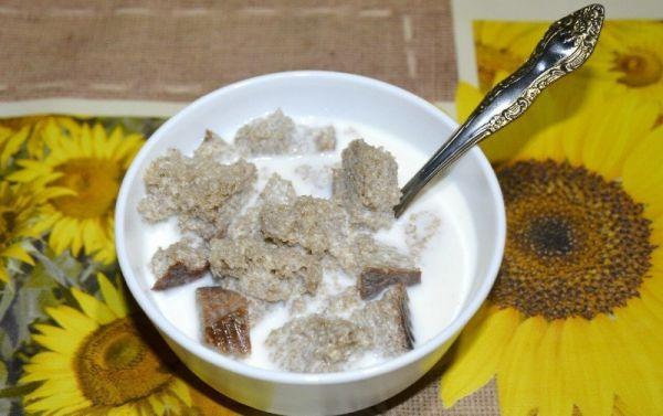 Тюря - сладкая похлебка с молоком | домашний рецепт тюря