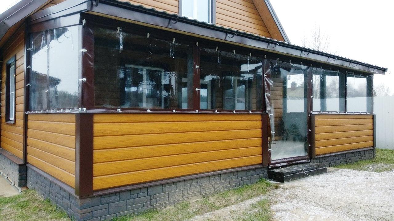 Что такое мягкие окна? преимущества мягкого остекления