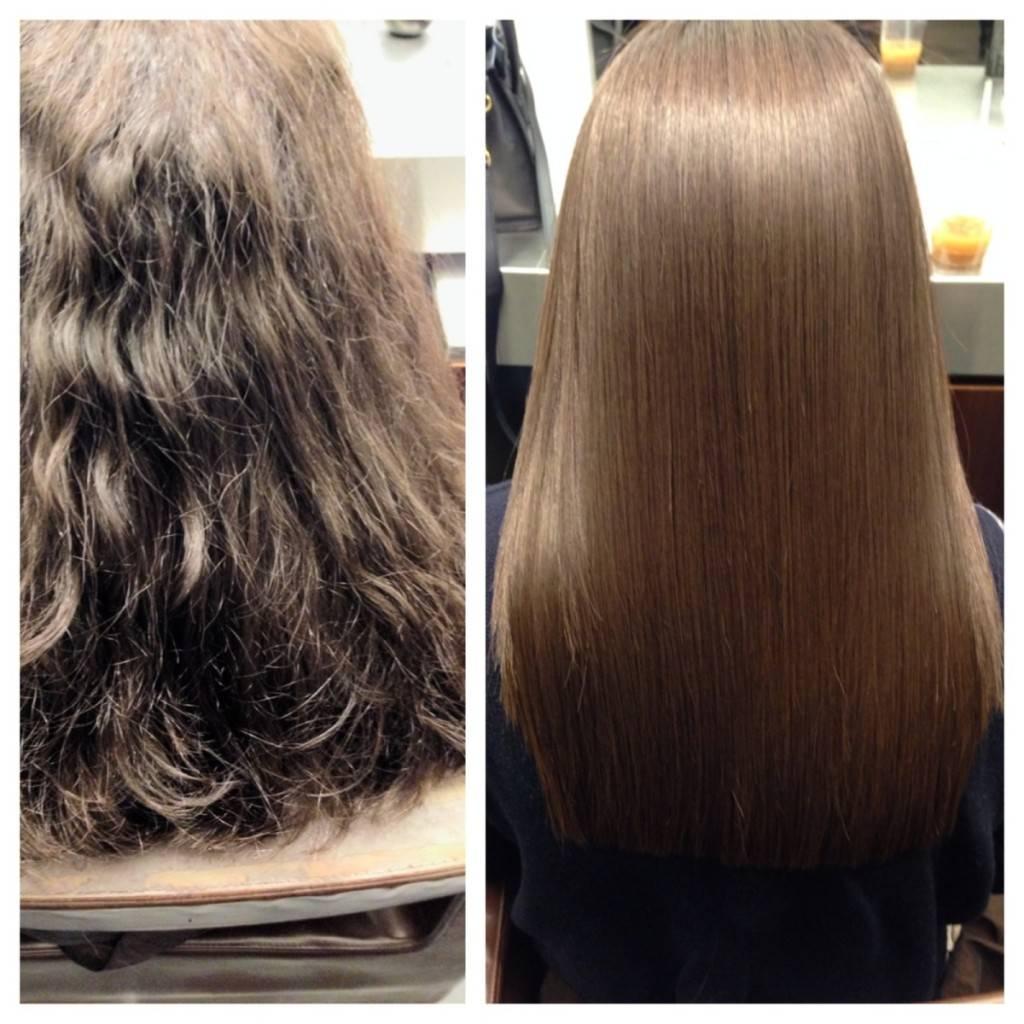 Нанопластика для волос - плюсы и минусы, сколько держится эффект