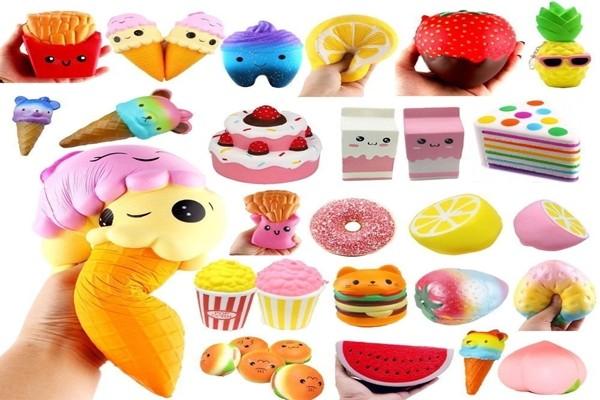 Сквиши - свойства и разновидности новой игрушки~ def4onki