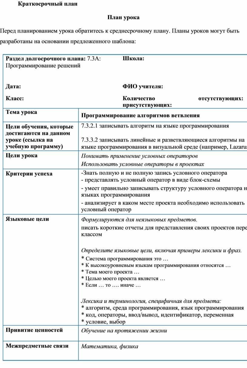 Разветвляющийся алгоритм: основы, структура и примеры :: syl.ru