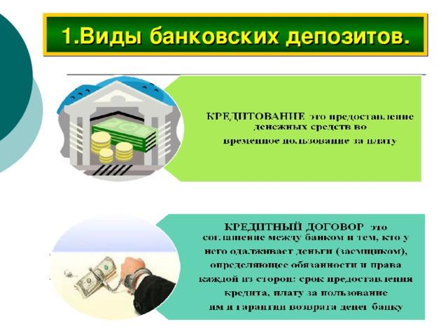 Что такое банковский депозит, их виды и чем отличается депозит от вклада?
