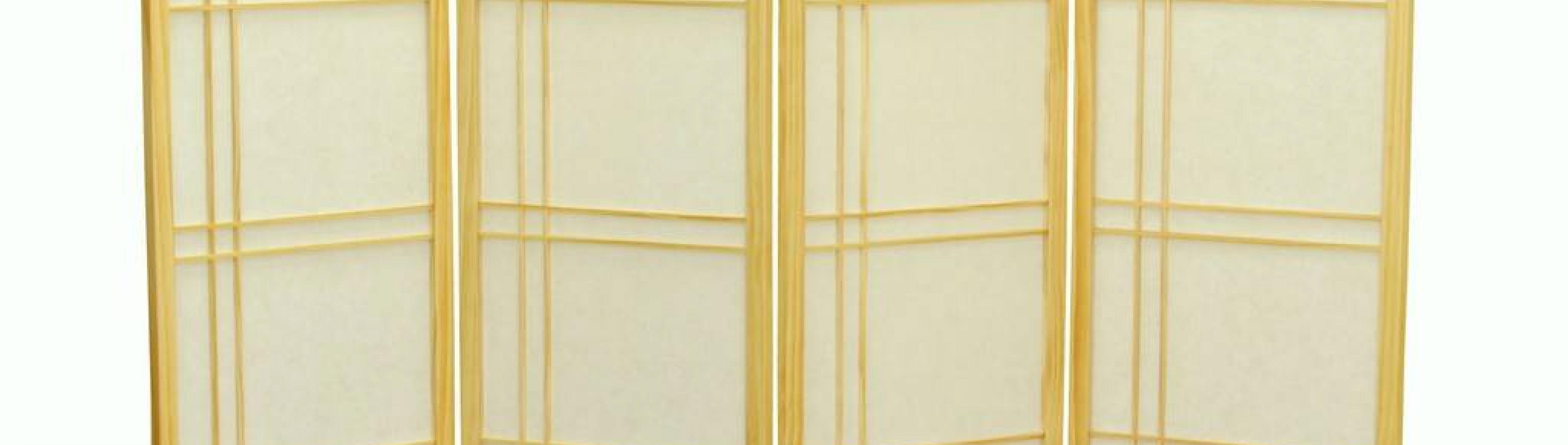 Интересные примеры моделей ширм-перегородок для комнаты