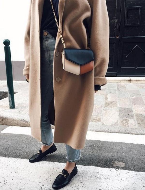С чем носить женские лоферы