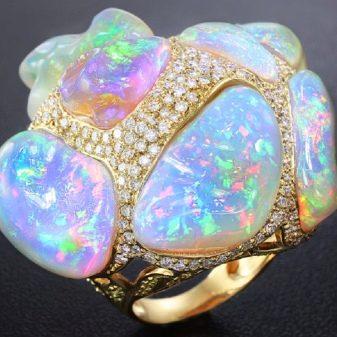 Камни опалы: свойства, значение, цена :: syl.ru