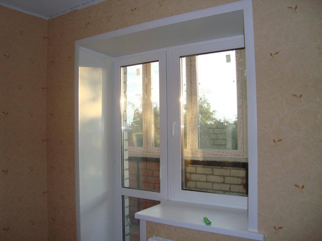 Откосы на окна: разновидности и установка с фото и видео