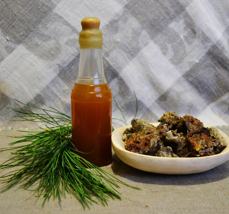 Как делают и лечебные свойства меда с живицей