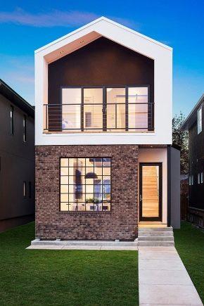 Фасад дома, виды фасадов, что такое фасад дома