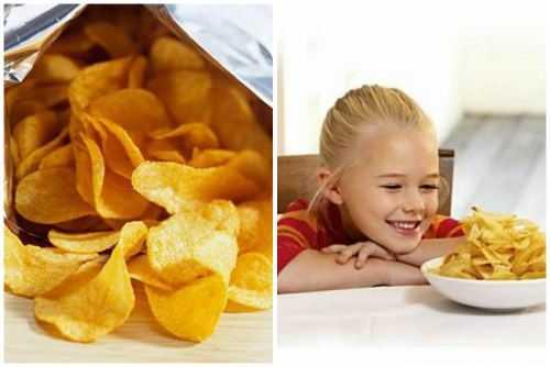 Не так страшны чипсы, как о них говорят