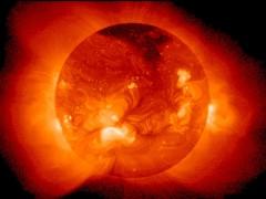 Солнечные пятна на солнце как обособленная магнитная структура